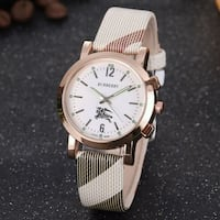 Burberry Womans White Watch College Park, 20740