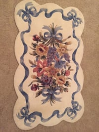 Beautiful floral rug