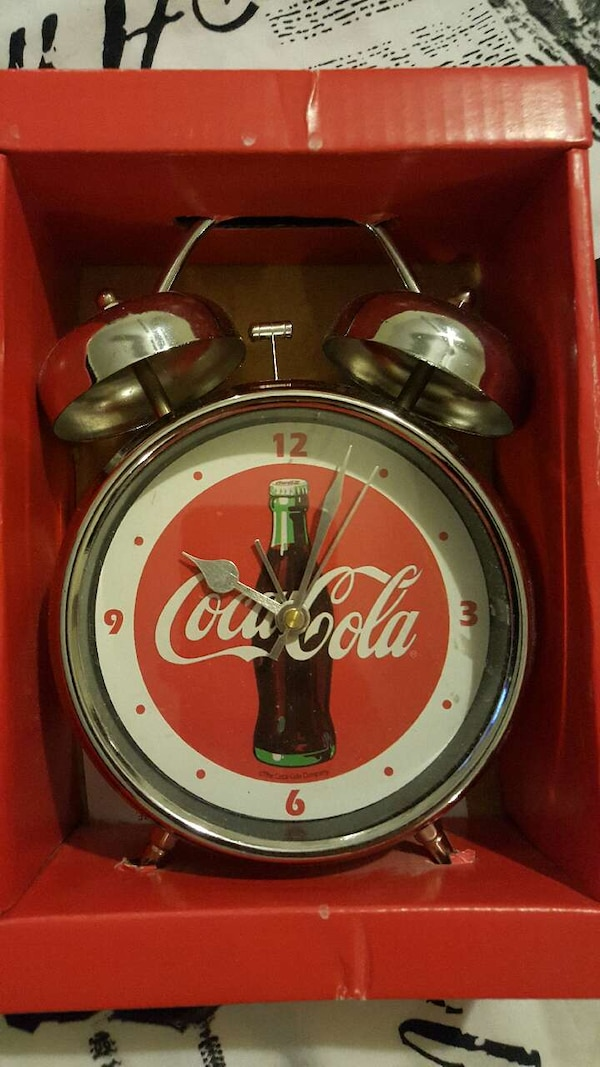 Used Coca Cola Alarm Clock For Sale In San Antonio Letgo