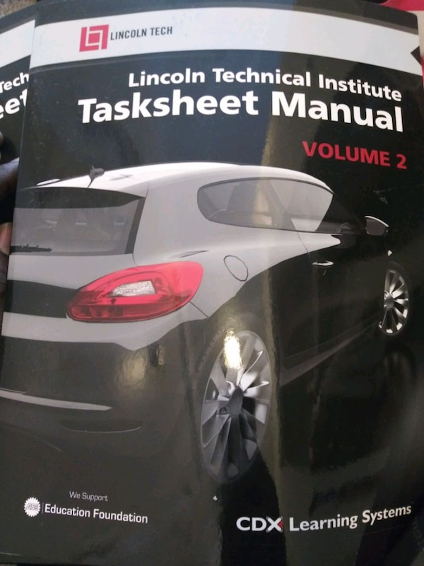 Lincoln tech automotive technology book 2
