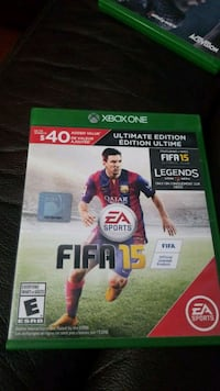 Xbox One Fifa 15  Barrie, L4N 8T5