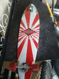 red and black Layback pintail longboard Regina, S4X 1E8