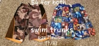 Boys Swim Trunks size 7/8 Lake in the Hills, 60156