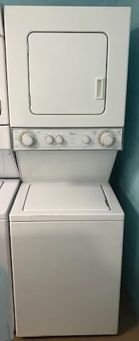 """Whirlpool 24"""" stackable washer and dryer"""