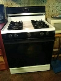 Gas stove for sale like new use 3 time .