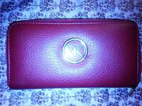 purple Michael Kors leather long wallet Kamloops, V2C 6C7