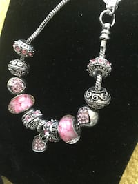 Very pretty bracelet $25 / Large hoop-earrings $13 / Chrystal necklace with butterfly $20 Alexandria, 22311