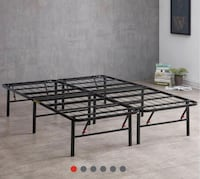 Metal frame new in box. We deliver. Mattress available.