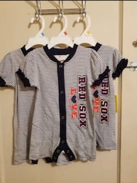 Boston Red Sox infant outfit