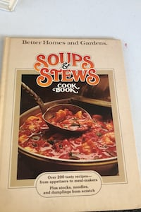 Soups and stews cookbook