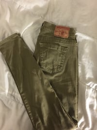 Army Green True Religions Size 27 (Women's)