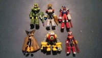 Assorted Mega Man NT Warrior Figures w Battle Chip