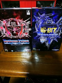 Transformer Mega Drive Megatron & PlayStation Optimus Prime