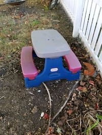 Little Tikes children's picnic table