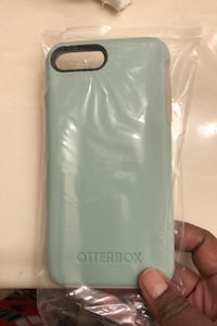 Otterbox iPhone 7/8 plus symmetry case - Teal Stafford, 22554