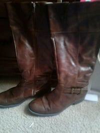 Brown riding boots Houston, 77075
