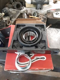 Fog lights,  drop hitch,  and a carrier bearing for 3/4  dodge