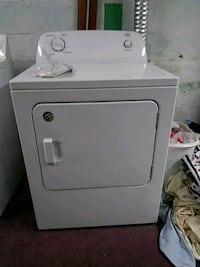 white front-load clothes dryer excellent condition Harding, 18643