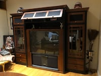 Ethan Allen Entertainment Center WITH TV NEWYORK