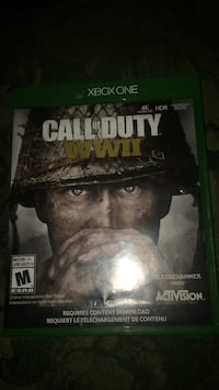 Xbox One Call of Duty WWII case Edmonton, T6H 1P8