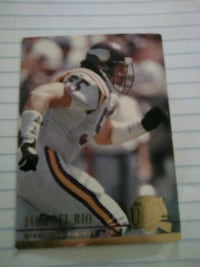 NFL LEGEND COACH AND PLAYER JACK DEL RIO CARD Washington