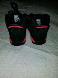pair of black-and-red Nike basketball shoes Catonsville