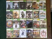 52 Lot Xbox 360 Games Halo Call of Duty Madden Need for Speed Batman Medal Honor Bishop, 15321