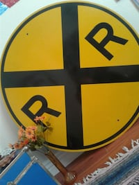 Railroad Crossing Sign!