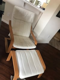 IKEA Poang chair with ottoman. Very comfortable and in great condition Lodi, 95242
