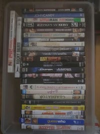 assorted DVD movie case lot Barrie, L4M 5C1