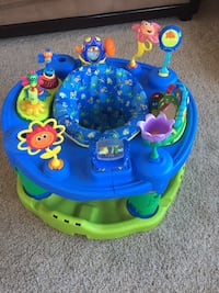 baby's blue and green activity center Stacy, 55079