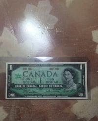 1 Canadian dollar bill 1867 to 1967 Mississauga, L5R 1M1
