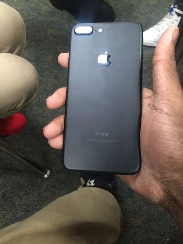 3f3a16621fb Used black iphone 7 plus for sale in New York - letgo