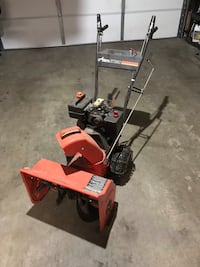 red and black Troy-Bilt snow blower Hastings, 68901