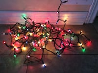 BRAND NEW 100 MULTICOLOUR INDOOR CHRISTMAS LIGHTS Montréal, H9K 1S7
