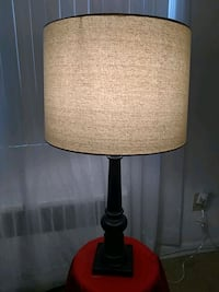 black and white table lamp Mount Rainier, 20712