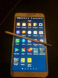 blanc Samsung Galaxy Note 3