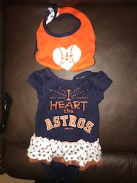 Infant Astros tutu onesie, Texas A&M onesies  San Juan, 78589