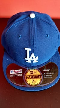 New Era L. A. Dodgers Cap Fitted 7 1\8 Westminster, 21157