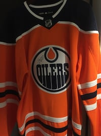 Authentic Signed McDavid Jersey