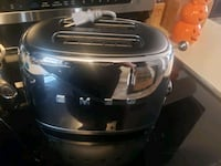 Chrome Smeg toaster excellent condition only selling because I need  Edmonton