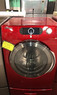 Samsung front load washer with pedestal Baltimore, 21223