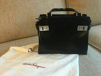 black leather Ferragamo handbag Germantown, 20876