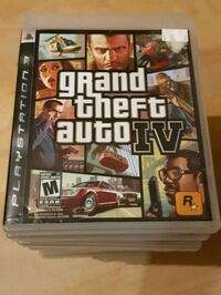 PS3 Grand Theft Auto 4 game