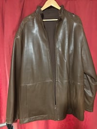 Brown Reversible Leather Jacket Brampton, L6V 2E5