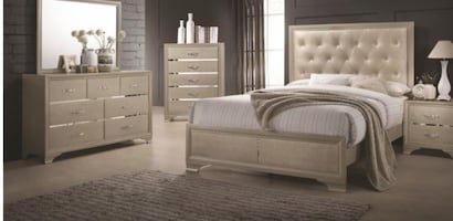 Queen 4PC BEDROOM SET NEW