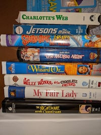 VHS Disney and many others Silver Spring