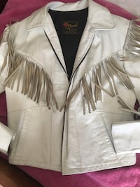 Vintage from the 80's leather fringed jacket Albuquerque, 87120