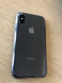 iPhone XR (cracked) top center