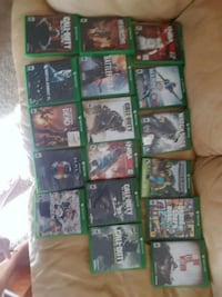 assorted-title Xbox 360 game case lot Pingree Grove, 60140